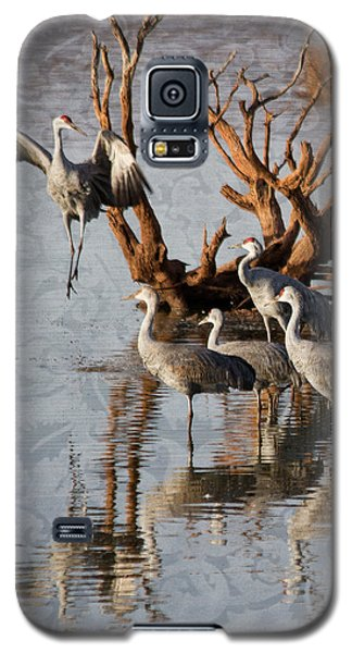 Galaxy S5 Case featuring the photograph Leap Of Faith by Beverly Parks