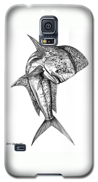 Leaping Dolphin  Galaxy S5 Case
