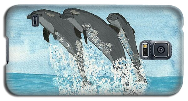 Leaping Dolphins Galaxy S5 Case