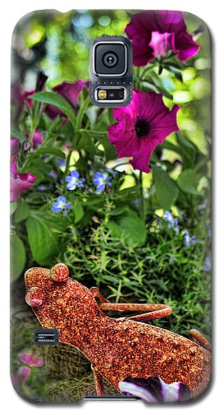 Leaping Lizards Galaxy S5 Case by Sylvia Thornton