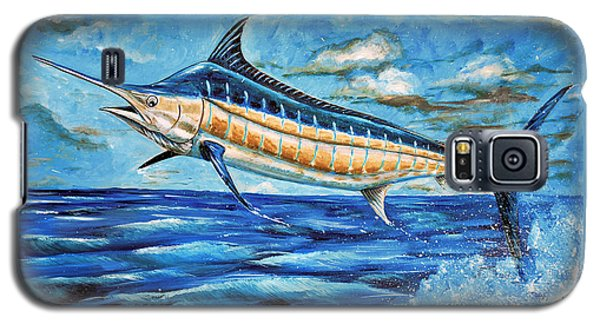 Leaping Marlin Galaxy S5 Case