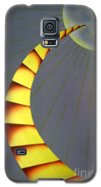Learning Curve Galaxy S5 Case by Kenneth Clarke
