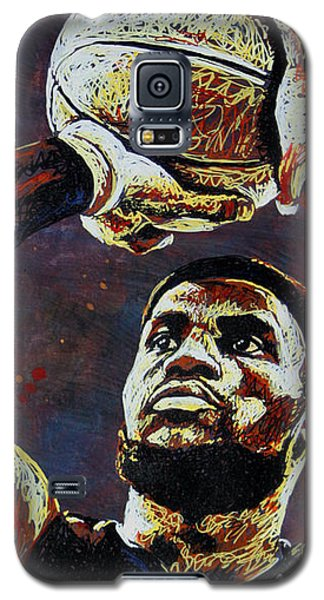 Lebron James Mvp Galaxy S5 Case