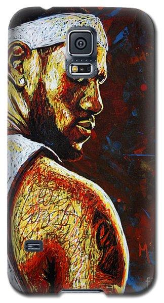 Lebron  Galaxy S5 Case by Maria Arango