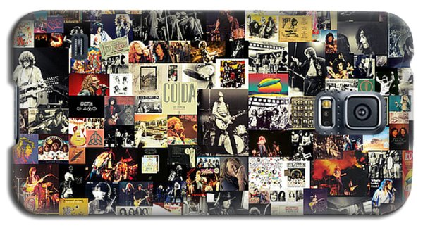 Led Zeppelin Collage Galaxy S5 Case
