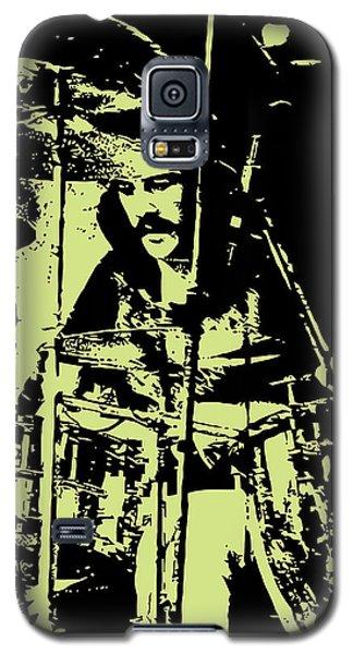 Drum Galaxy S5 Case - Led Zeppelin No.05 by Geek N Rock