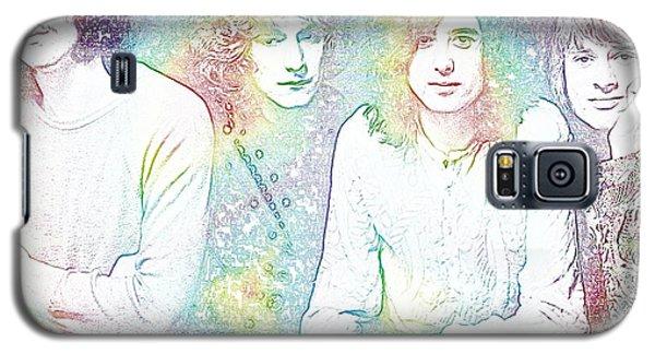 Led Zeppelin Tie Dye Galaxy S5 Case by Dan Sproul