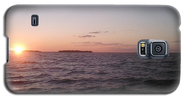 Leech Lake Sunset Galaxy S5 Case