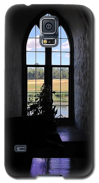 Leeds Castle Window Galaxy S5 Case