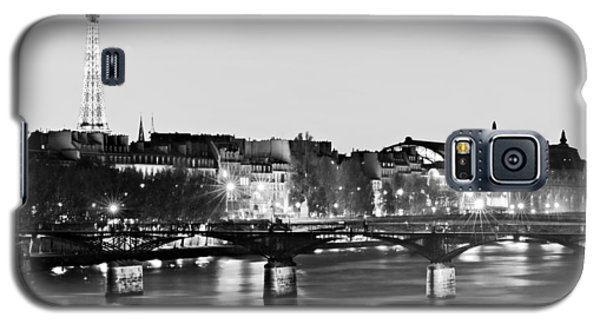 Left Bank At Night / Paris Galaxy S5 Case