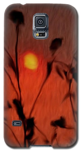 Left-handed Sundown Galaxy S5 Case