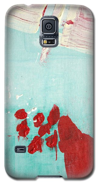 Galaxy S5 Case featuring the painting Left Turn Lane  C2013 by Paul Ashby