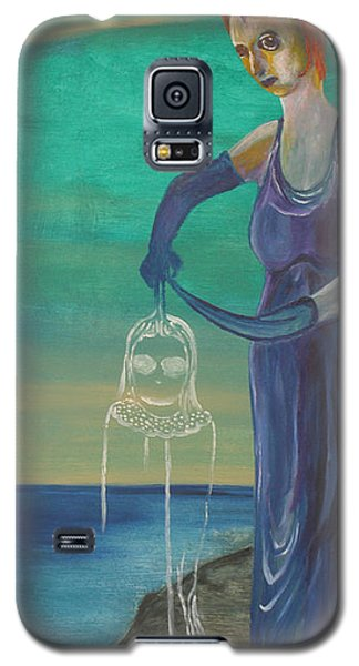 Galaxy S5 Case featuring the painting Legacy by Christophe Ennis