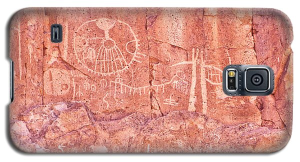 Petroglyphs Owens Valley California Galaxy S5 Case