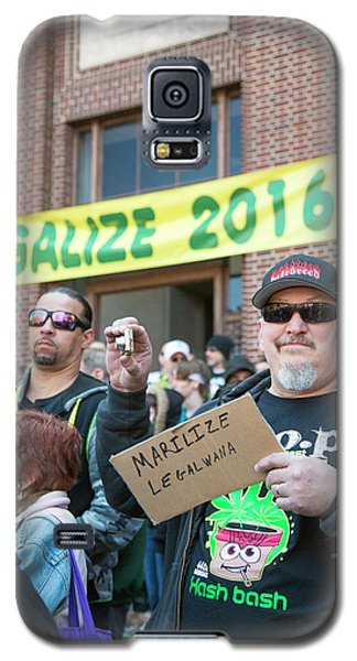 Legalisation Of Marijuana Rally Galaxy S5 Case