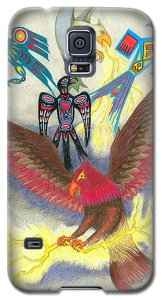 Legend Of The Thunderbird Galaxy S5 Case