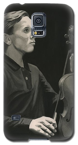 Galaxy S5 Case featuring the painting Legendary Violinist by Ferrel Cordle
