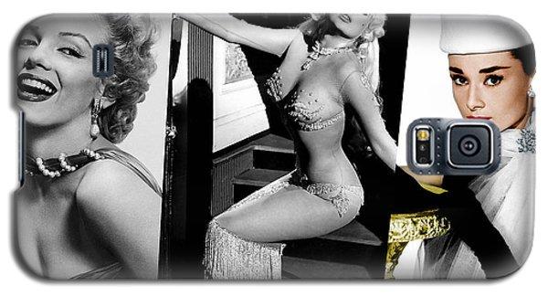 Legends Marilyn Monroe Jane Mansfield And Audrey Hepburn Galaxy S5 Case