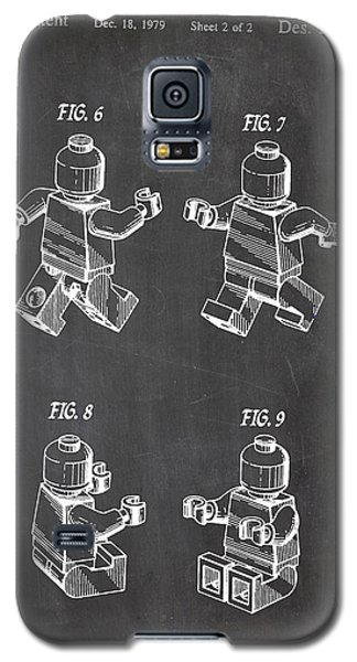 Lego Patent Drawing Galaxy S5 Case