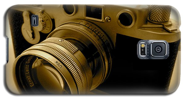 Leica Classic Film Camera Galaxy S5 Case by John Colley