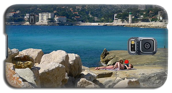 Leisure In Cassis Galaxy S5 Case