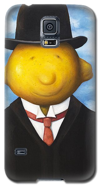 Lemon Head Galaxy S5 Case by Leah Saulnier The Painting Maniac