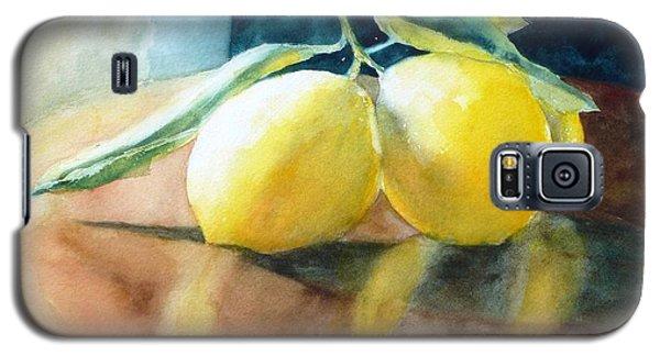 Lemon Reflections Galaxy S5 Case