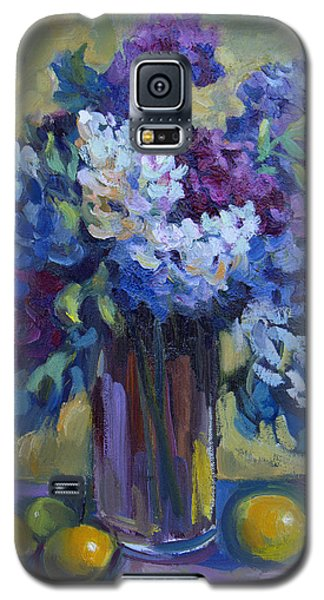Lemons And Lilacs Galaxy S5 Case by Diane McClary