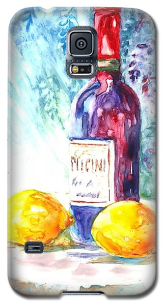 Lemons And Wine And A Little Sunshine Galaxy S5 Case