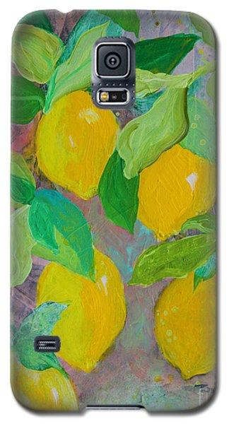 Lemons On Lemon Tree Galaxy S5 Case