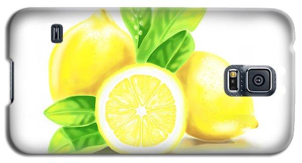 Lemons Galaxy S5 Case by Veronica Minozzi