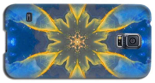 Lemurian Aquatine Calcite Mandala Galaxy S5 Case