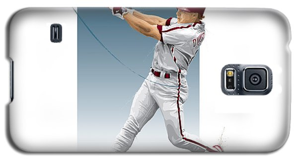 Galaxy S5 Case featuring the digital art Lenny Dykstra by Scott Weigner