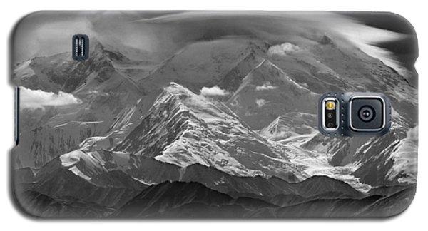 101366-lenticular Cloudcap Over Mt. Mckinley Galaxy S5 Case