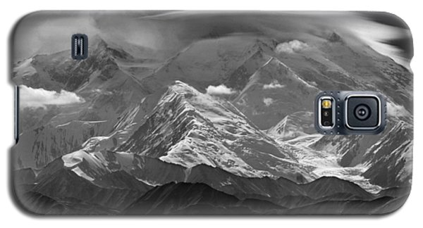 101366-lenticular Cloudcap Over Mt. Mckinley Galaxy S5 Case
