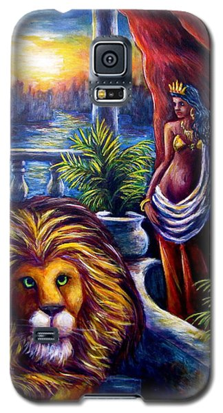 Leo And The Virgin Galaxy S5 Case