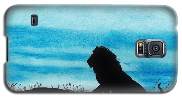 Leo At Sunset Galaxy S5 Case by D Hackett
