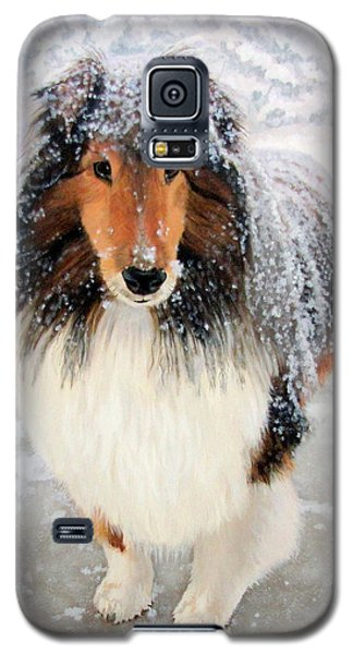 Leo In The Snow Galaxy S5 Case