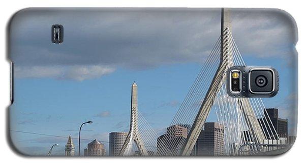 Leonard P Zakim Bridge Galaxy S5 Case by Barbara McDevitt