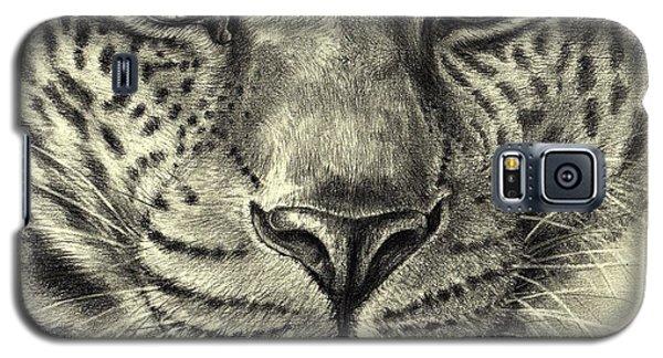 Leopard Galaxy S5 Case by Heidi Kriel