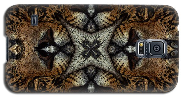 Leopard Kaleidoscope  Galaxy S5 Case