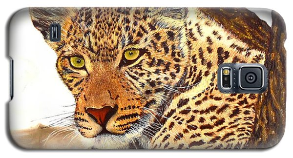 Leopard Point Of View Galaxy S5 Case