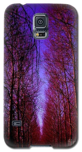 Les Peupliers Galaxy S5 Case
