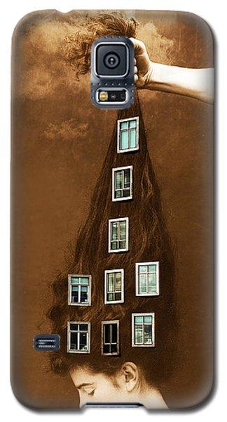 Les Promesses D'une Chevelure - Head Of Hair Promises Galaxy S5 Case