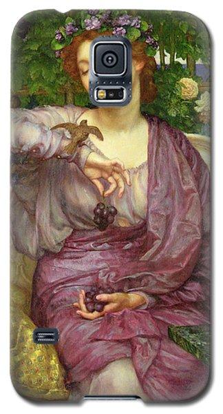 Lesbia And Her Sparrow Galaxy S5 Case by Sir Edward John Poynter