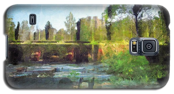 Galaxy S5 Case featuring the photograph Less Travelled 17 by The Art of Marsha Charlebois
