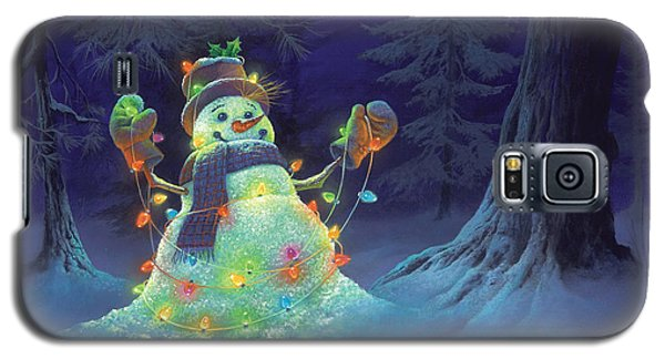 Let It Glow Galaxy S5 Case by Michael Humphries