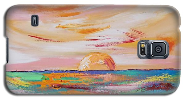 Galaxy S5 Case featuring the painting Let It Rest by PainterArtist FIN