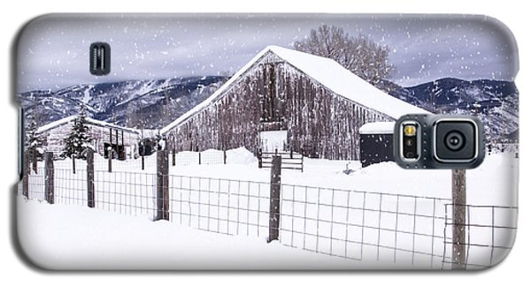 Galaxy S5 Case featuring the photograph Let It Snow by Kristal Kraft