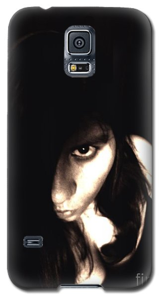 Let The Darkness Take Me Galaxy S5 Case by Vicki Spindler
